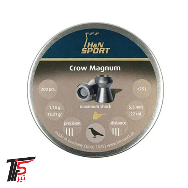 ساچمه تفنگ بادی Crow Magnum کالیبر ۵٫۵