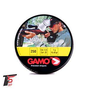ساچمه تفنگ بادی گامو مگنوم کالیبر ۵٫۵