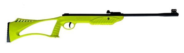 تفنگ بادی گل مشکی قنداق رنگی